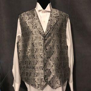 Cody James Men's Paisley Print Vest, Size XL